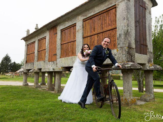La boda de Samuel y Suely  en Gondomar, Pontevedra 1