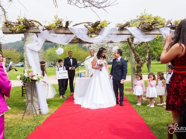 La boda de Samuel y Suely  en Gondomar, Pontevedra 8
