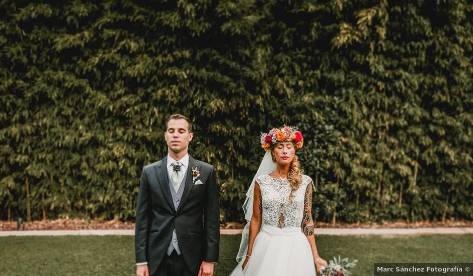 La boda de Joan y Chiara en Sant Fost De Campsentelles, Barcelona
