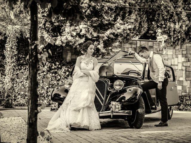 La boda de Diego y María José en Torrejon De Velasco, Madrid 33