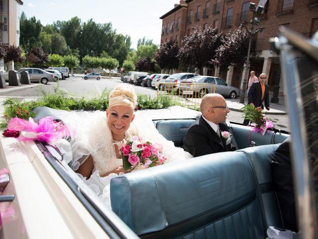 La boda de Daniel y Maria en Magaz, Palencia 8