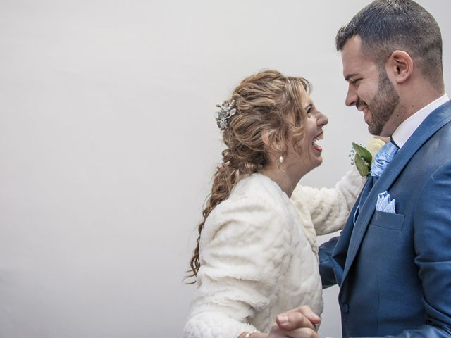 La boda de Viky y Ivan en Ocaña, Almería 120