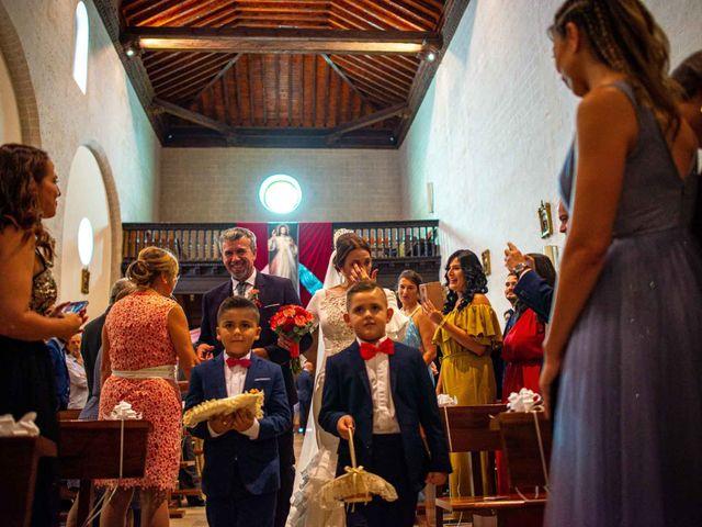 La boda de Davinia y Iván en Velilla De San Antonio, Madrid 26