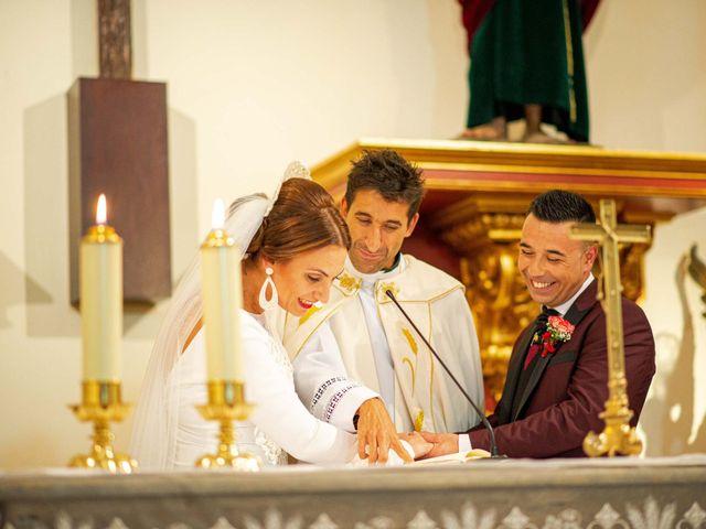 La boda de Davinia y Iván en Velilla De San Antonio, Madrid 29