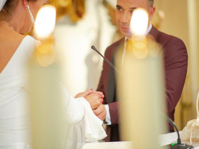 La boda de Davinia y Iván en Velilla De San Antonio, Madrid 34