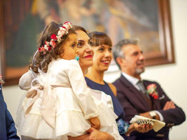 La boda de Davinia y Iván en Velilla De San Antonio, Madrid 35