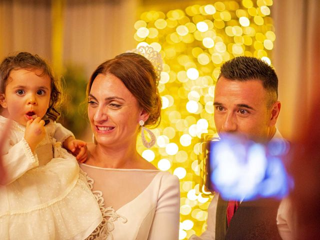 La boda de Davinia y Iván en Velilla De San Antonio, Madrid 72