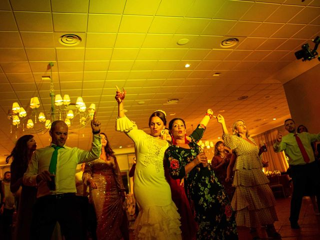 La boda de Davinia y Iván en Velilla De San Antonio, Madrid 96