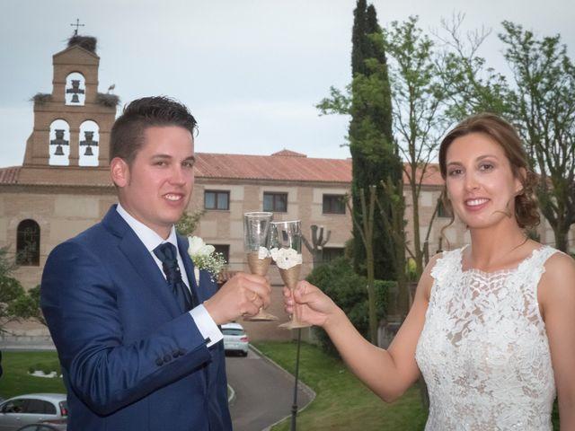 La boda de Guille y Mari Carmen en Pedrajas De San Esteban, Valladolid 21