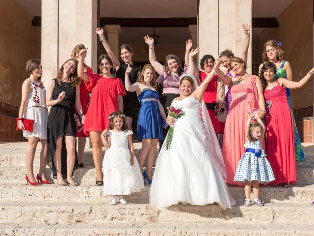 La boda de Eduardo y Jennifer en Saelices, Cuenca 13