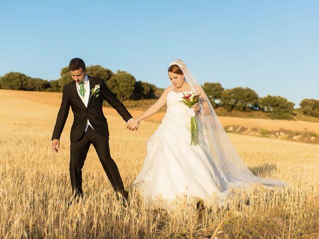 La boda de Eduardo y Jennifer en Saelices, Cuenca 16
