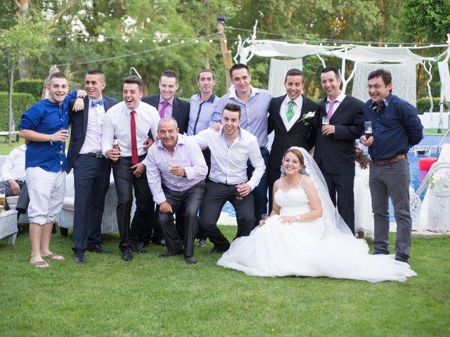 La boda de Eduardo y Jennifer en Saelices, Cuenca 19