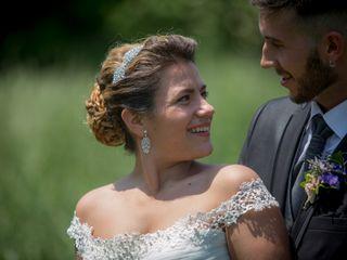 La boda de Andrea y Ezequiel