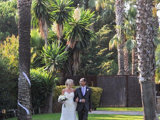 La boda de Javi y Barbara en Sant Vicenç De Montalt, Barcelona 16