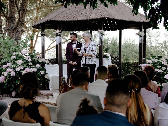 La boda de Eugenio y Ainoa en Llinars Del Valles, Barcelona 14