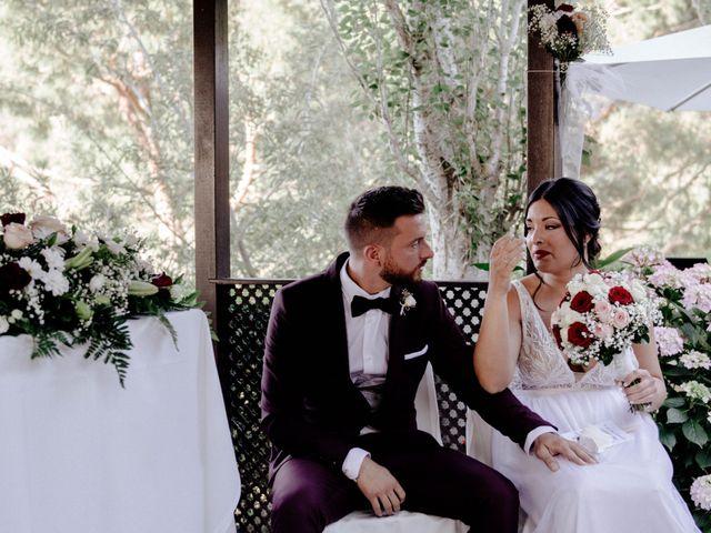 La boda de Eugenio y Ainoa en Llinars Del Valles, Barcelona 26