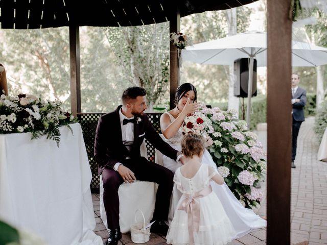 La boda de Eugenio y Ainoa en Llinars Del Valles, Barcelona 33