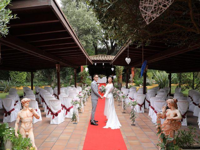 La boda de YONG ZUO  y XUENI DI en Barcelona, Barcelona 6