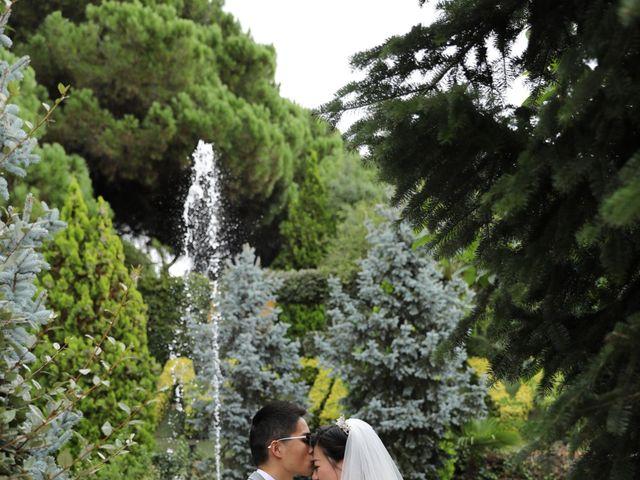 La boda de YONG ZUO  y XUENI DI en Barcelona, Barcelona 9