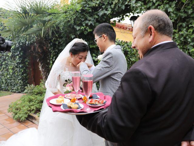 La boda de YONG ZUO  y XUENI DI en Barcelona, Barcelona 10