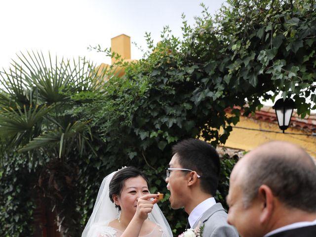 La boda de YONG ZUO  y XUENI DI en Barcelona, Barcelona 11