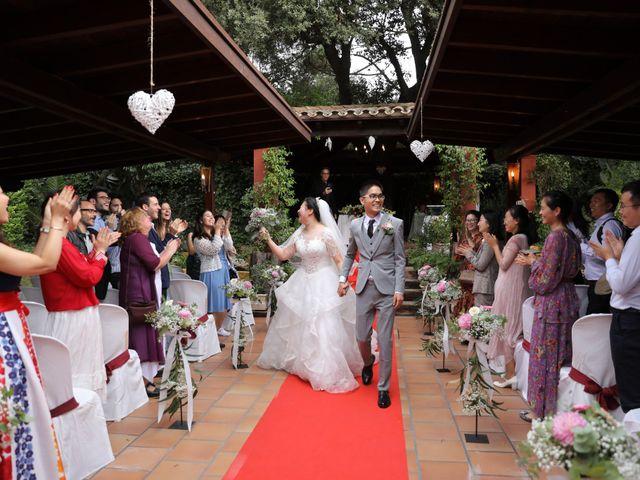 La boda de YONG ZUO  y XUENI DI en Barcelona, Barcelona 13