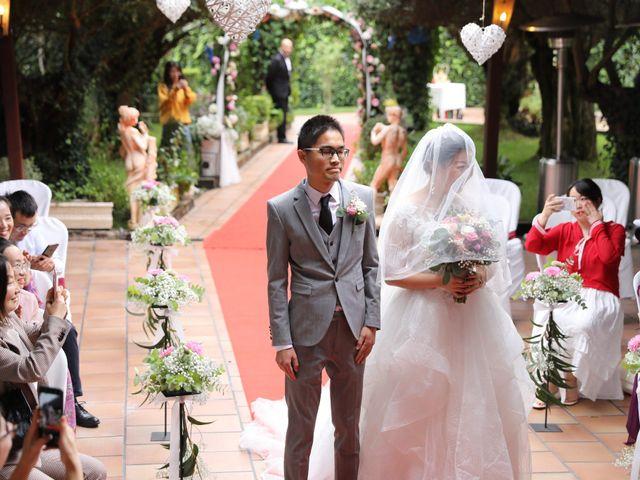 La boda de YONG ZUO  y XUENI DI en Barcelona, Barcelona 17