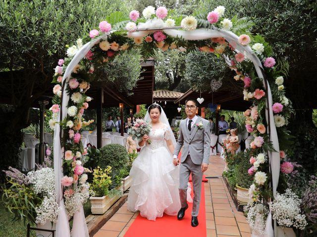 La boda de YONG ZUO  y XUENI DI en Barcelona, Barcelona 19