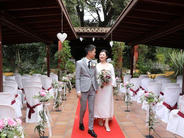 La boda de YONG ZUO  y XUENI DI en Barcelona, Barcelona 20