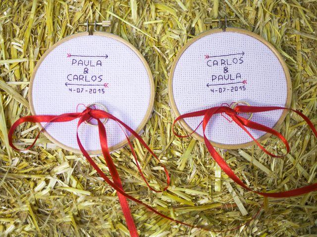 La boda de Carlos y Paula en Arbucies, Girona 2