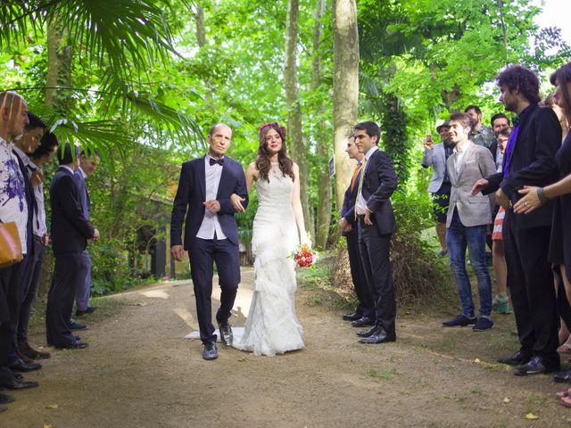La boda de Carlos y Paula en Arbucies, Girona 12