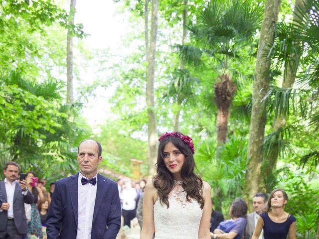 La boda de Carlos y Paula en Arbucies, Girona 13