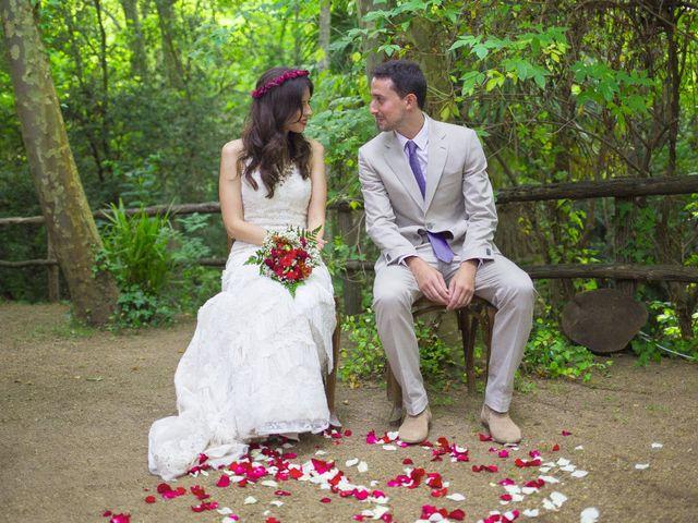 La boda de Carlos y Paula en Arbucies, Girona 14