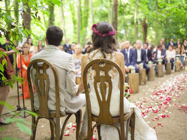 La boda de Carlos y Paula en Arbucies, Girona 16