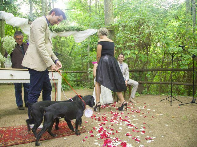 La boda de Carlos y Paula en Arbucies, Girona 18