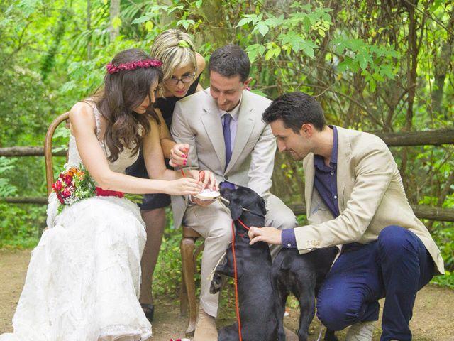 La boda de Carlos y Paula en Arbucies, Girona 19