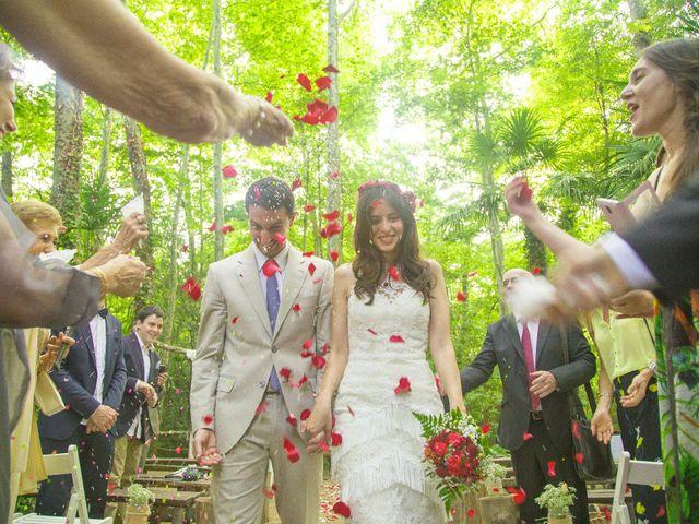 La boda de Carlos y Paula en Arbucies, Girona 22