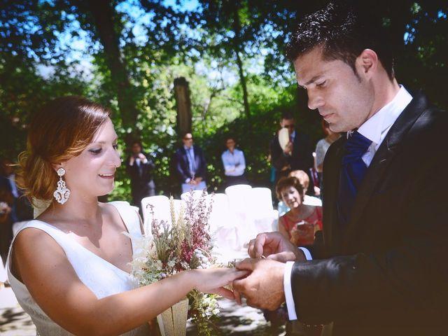 La boda de Fran y Blanca en Valdastillas, Cáceres 36