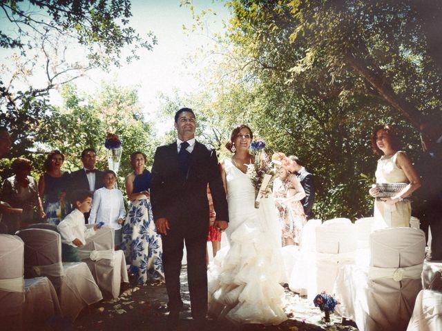 La boda de Fran y Blanca en Valdastillas, Cáceres 42