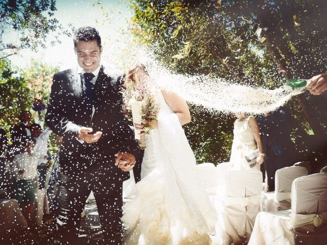 La boda de Fran y Blanca en Valdastillas, Cáceres 43