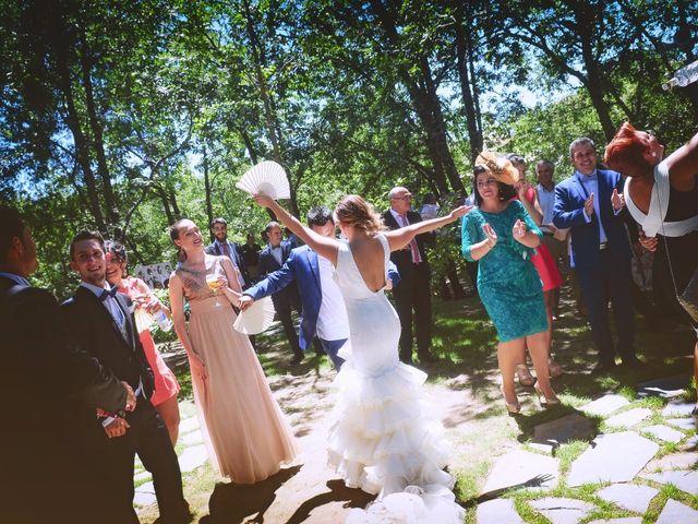La boda de Fran y Blanca en Valdastillas, Cáceres 53