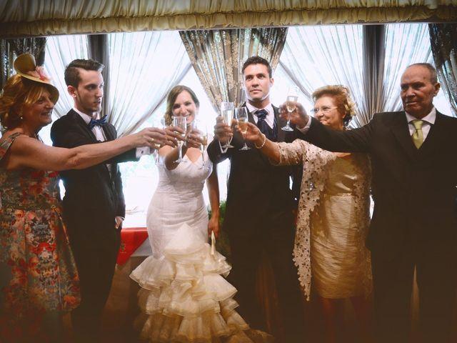 La boda de Fran y Blanca en Valdastillas, Cáceres 56