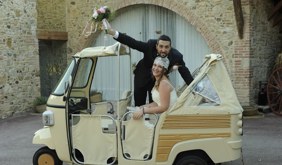 La boda de Javi y Anna en Sant Fost De Campsentelles, Barcelona