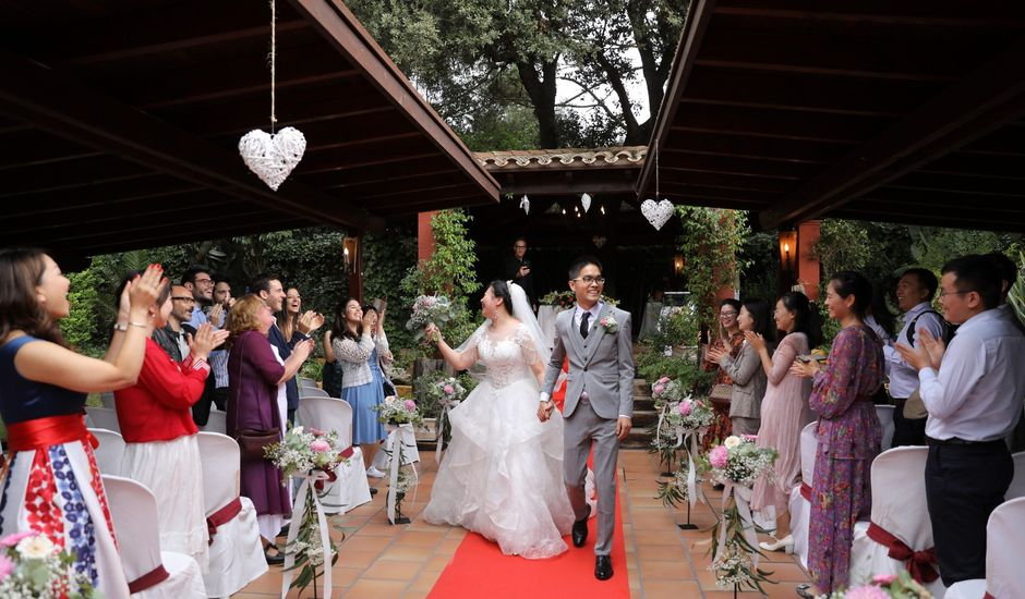 La boda de YONG ZUO  y XUENI DI en Barcelona, Barcelona