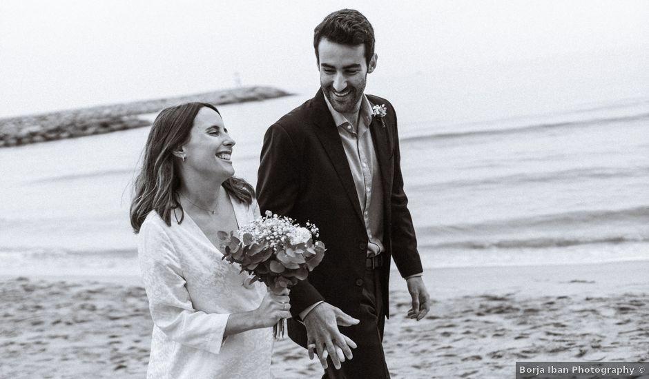 La boda de Dani y Laura en Castelldefels, Barcelona