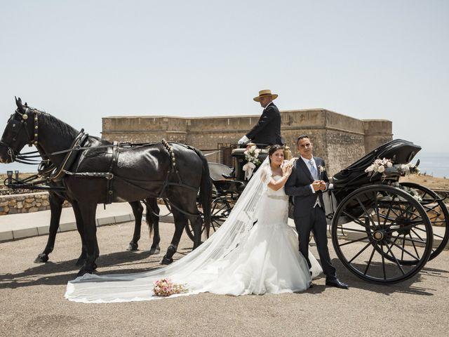 La boda de Jose y Cynthia en La Curva, Almería 1