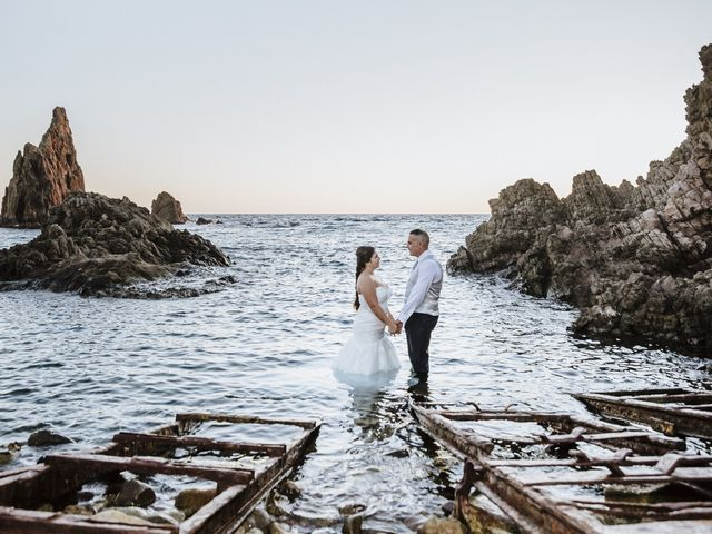 La boda de Jose y Cynthia en La Curva, Almería 79