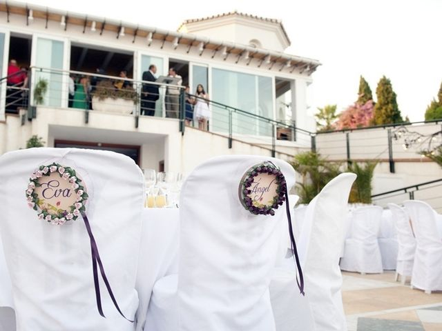 La boda de Ángel y Eva en Málaga, Málaga 9