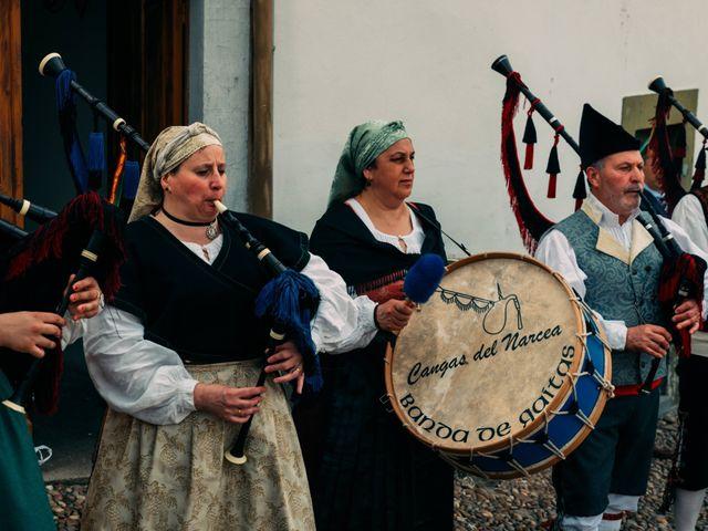 La boda de Andrés y Belén en Cangas De Narcea, Asturias 10