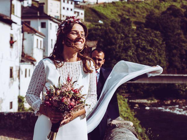 La boda de Andrés y Belén en Cangas De Narcea, Asturias 1